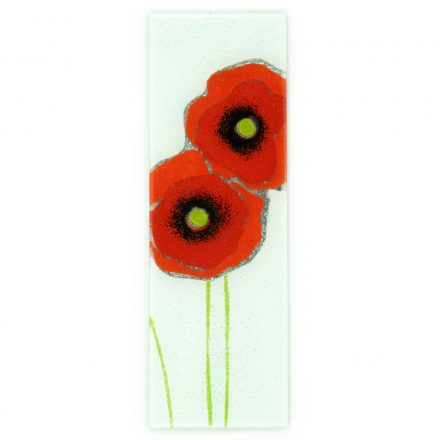 poppies glass