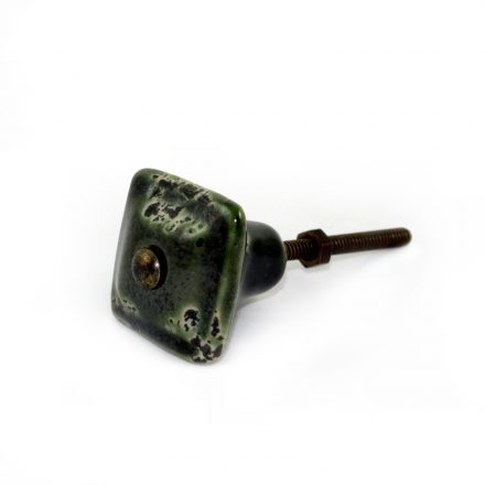 old green door knob
