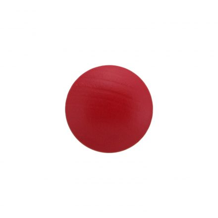 wood door knob red