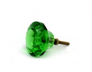 green emerald door knob
